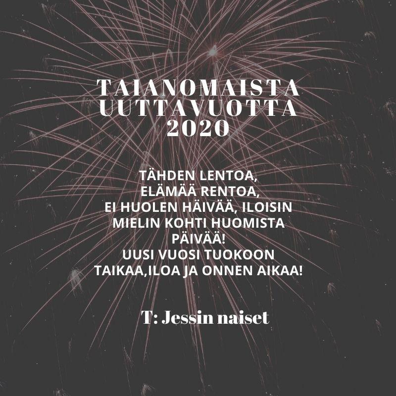 Uuden Vuoden Toivotus 2021